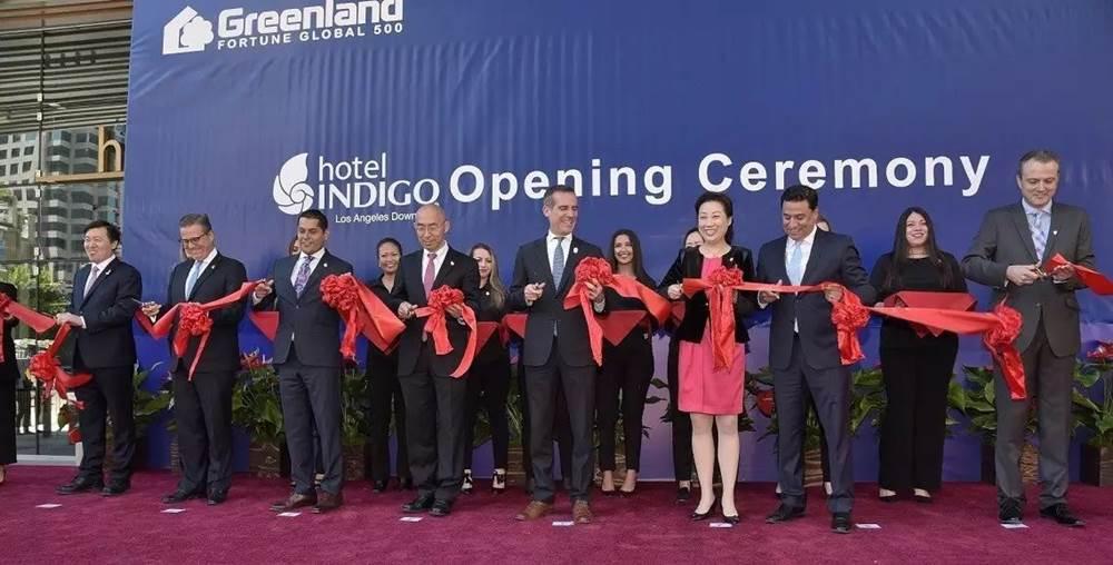 洛杉磯綠地酒店開幕