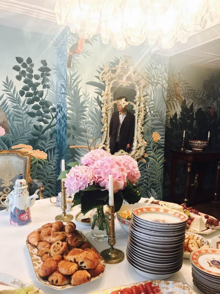 法國手工壁紙品牌的早餐會