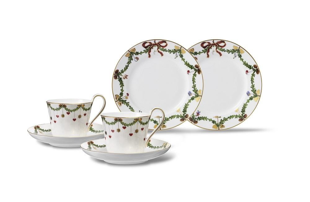 經典聖誕早餐杯盤組