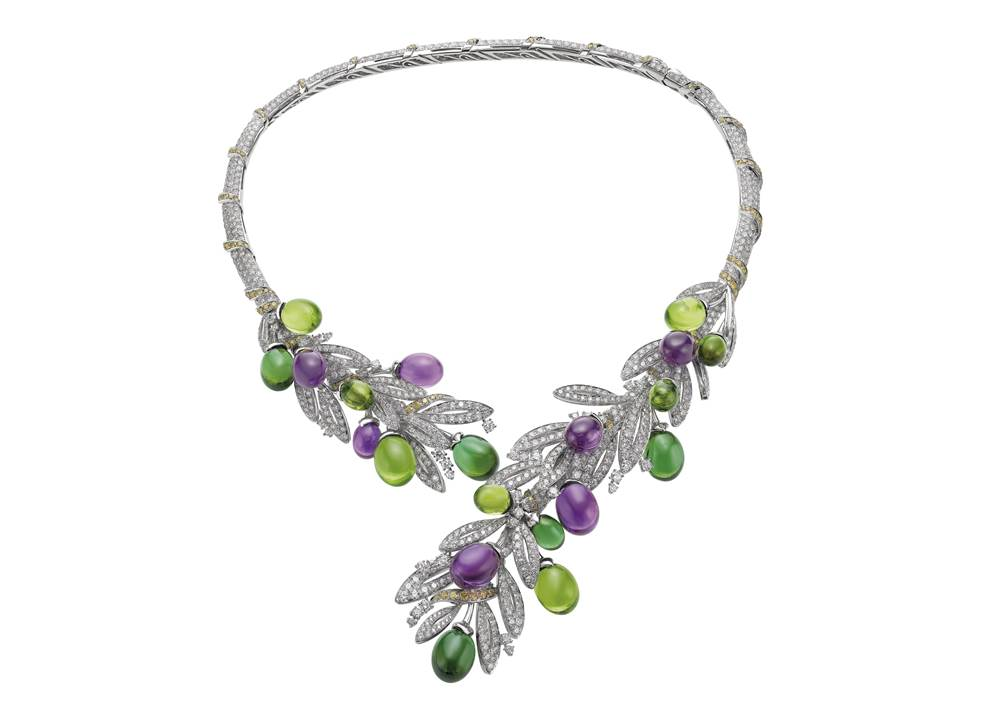 262657_BVLGARI FESTA ITALIANA系列OLIVE頂級彩寶鑽石項鍊