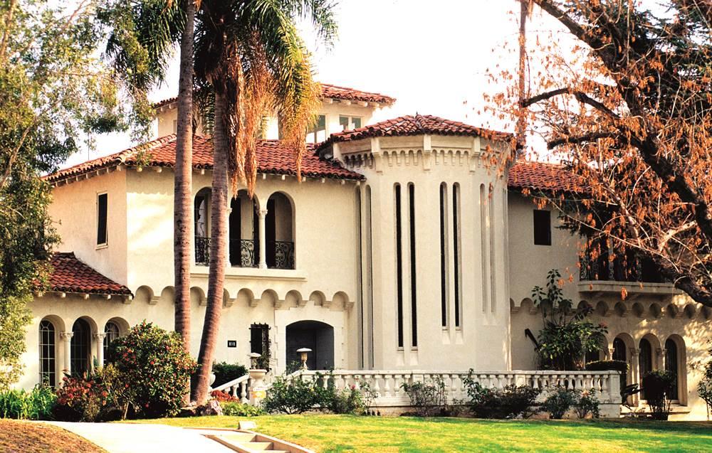 A79JXA Sunset Boulevard Beverly Hills Hollywood California Los Angeles
