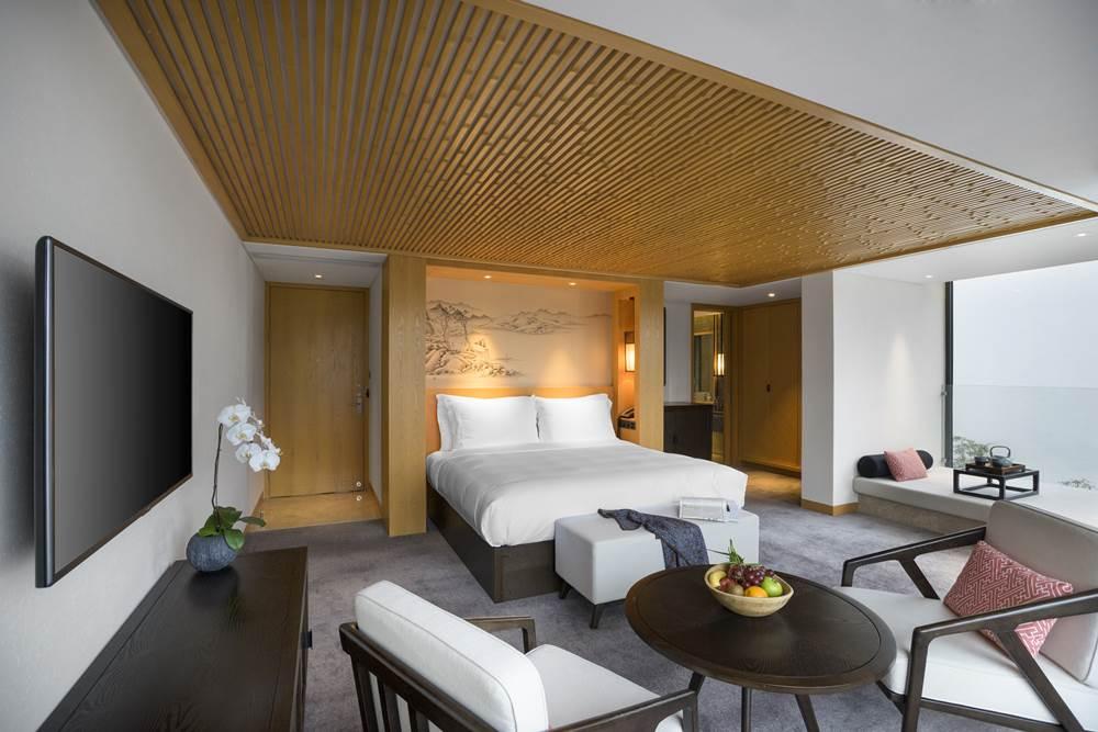 Alila Anji - Accommodation - Room - Lake View Room 01