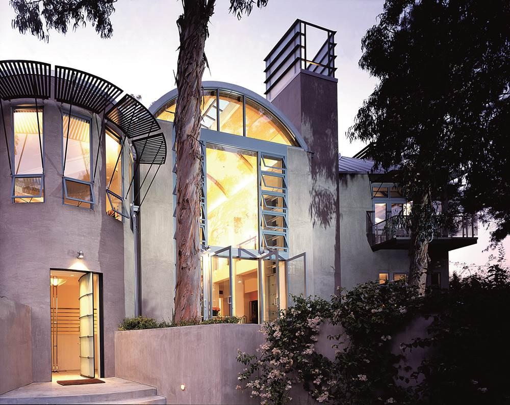 C2KXX6 Martin House, Rustic Canyon, Santa Monica, LA, exterior