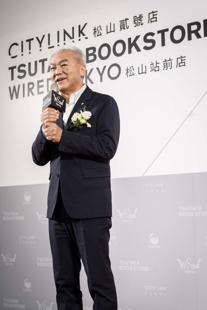 CCC集團社長增田宗昭首度在台與貴賓和媒體近距離分享集團最為重視的「生活提案」。_02
