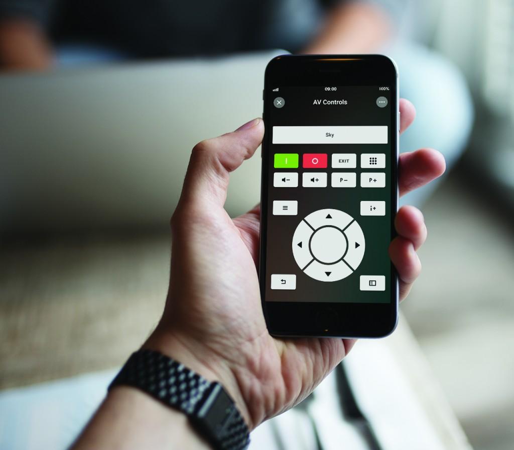 Loxonee Smart Home App - AV Controls