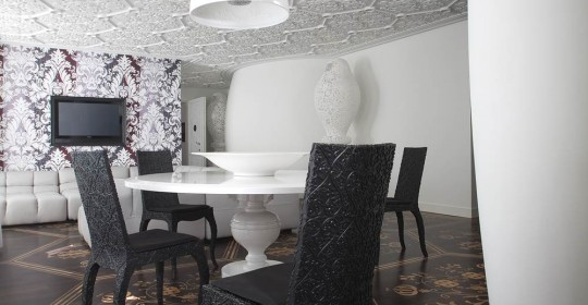 Private residence Amsterdam Interior design: marcel Wanders, 2009
