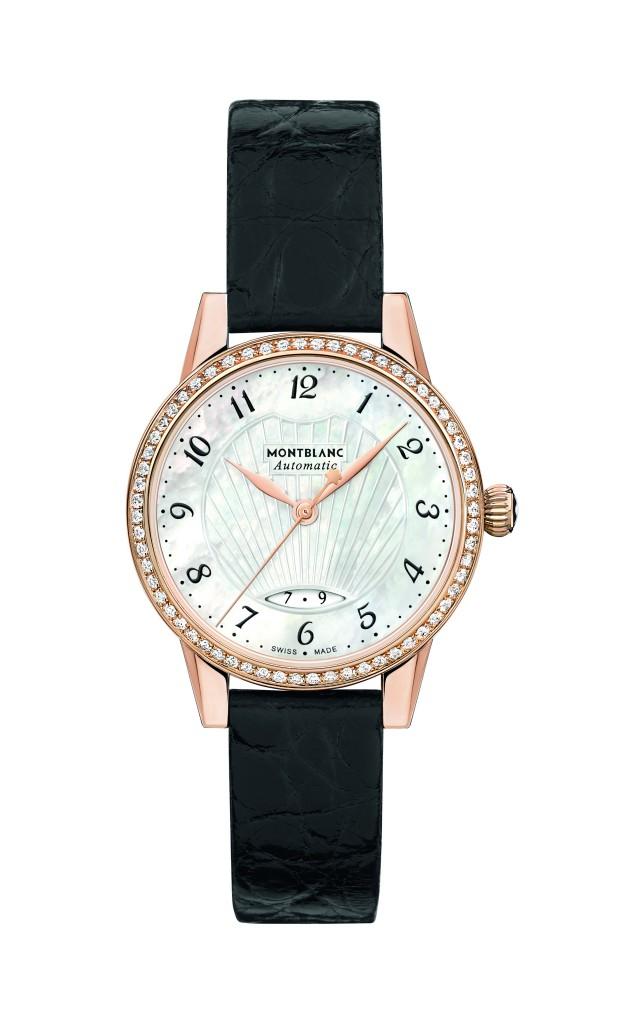 116501 萬寶龍Boheme寶曦系列日期顯示珠寶腕錶_18K玫瑰金款,NT$294,200