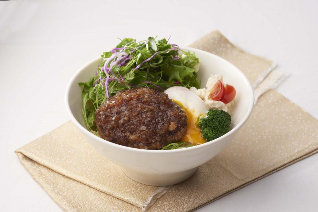 晶華圖七-日本和牛漢堡排丼飯