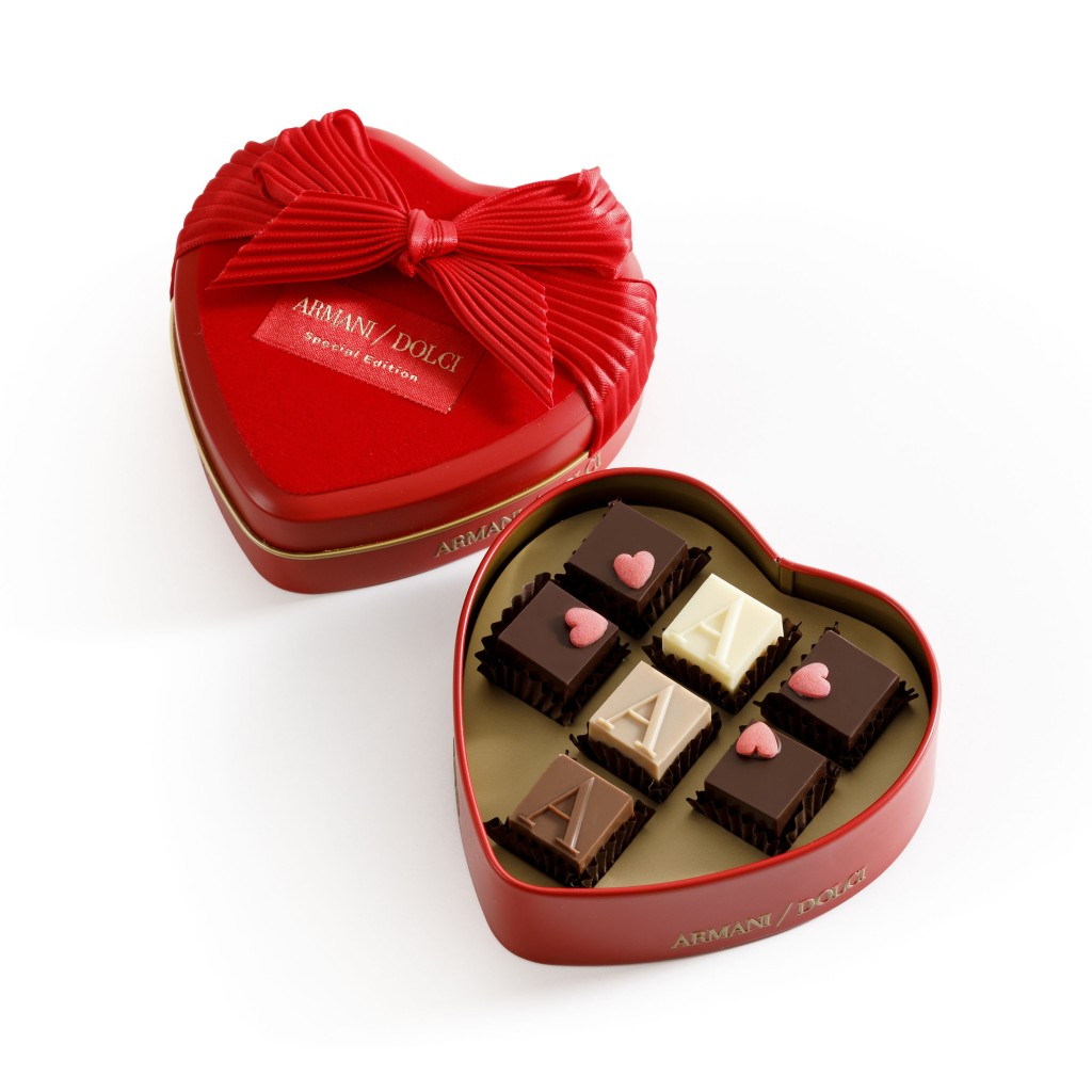 Armani Dolci San Valentino 2018 情人節特別款鐵盒
