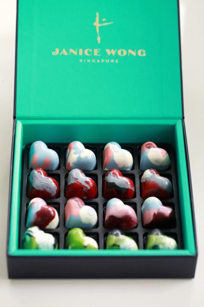 Regent X Janice Wong心心相印巧克力祝福天下有情人甜甜蜜蜜