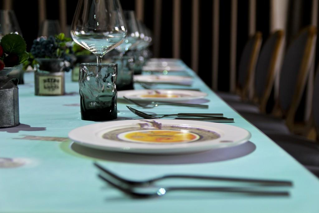 台北晶華_等餐過程充滿了驚奇與歡樂