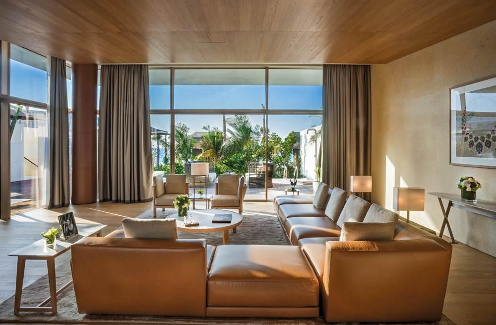 寶格麗杜拜飯店與度假村_Beach Villa客廳(2)