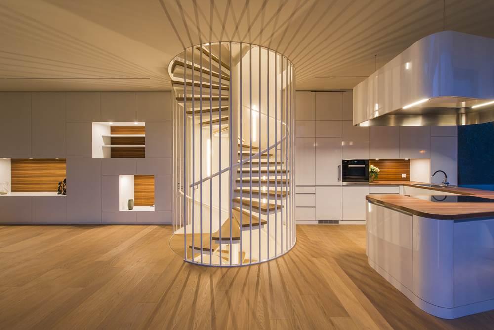 44_Flexhouse_Ground Floor_Spiral Staircase