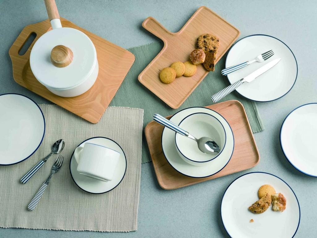 HOLA琺瑯系列鍋具+LaVie陶瓷餐具系列