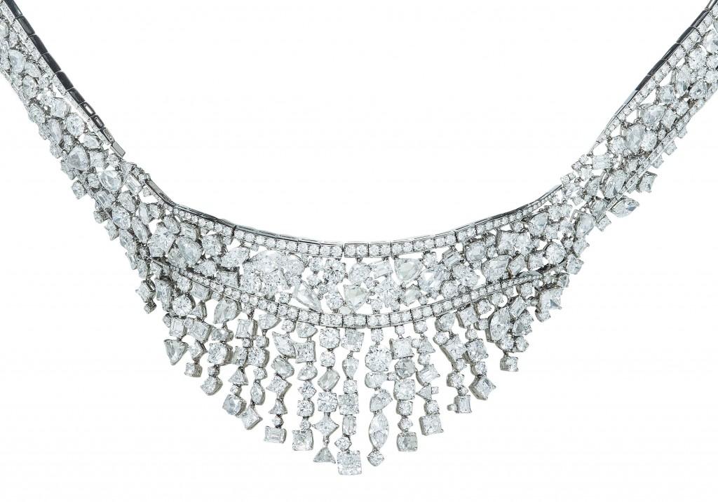 Tiffany 混合式切割鑽石頸鍊 NT$40,840,000