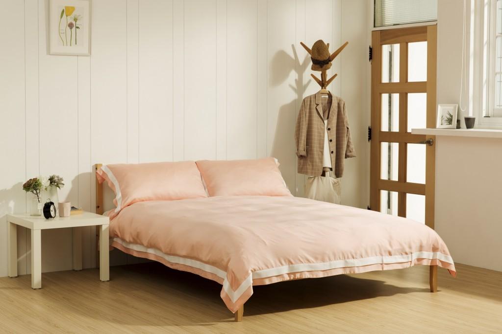 【圖五】合隆羽藏天絲配件床組全面9折