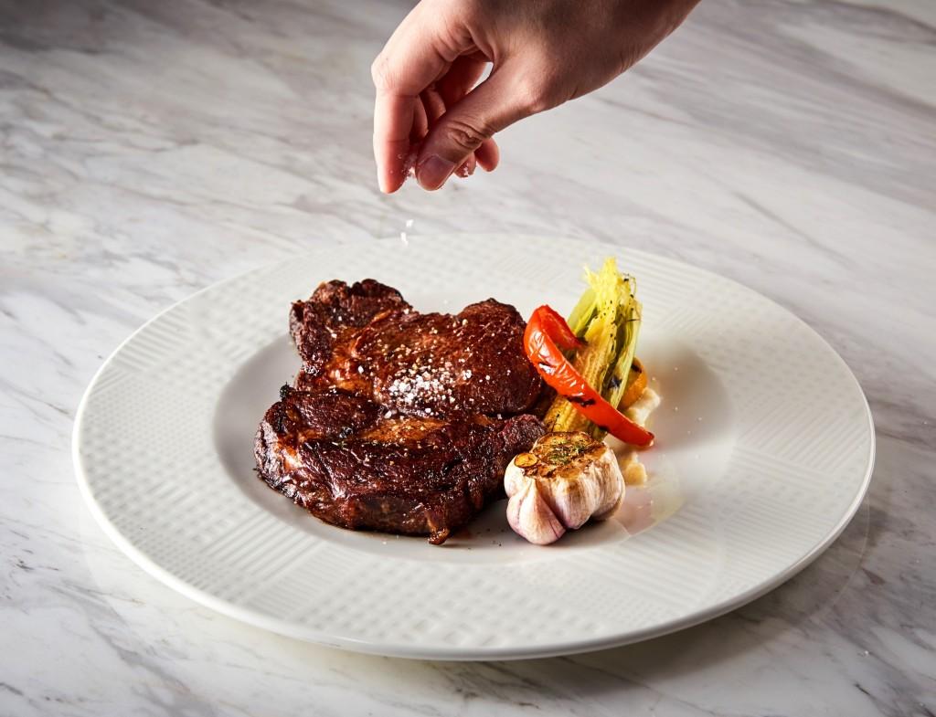 台北美福大飯店_GMT義法餐廳_美國特級肋眼牛排
