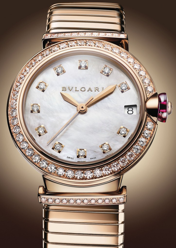 BVLGARI LVCEA TUBOGAS腕錶,約NT$ 1,120,000元(103034)_情境圖