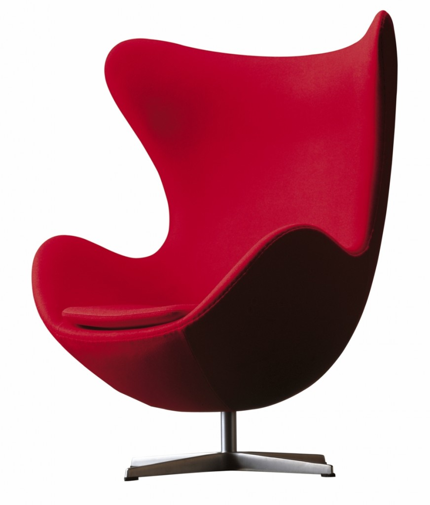 The Egg, Model 3316, designed by Arne Jacobsen in 1958.