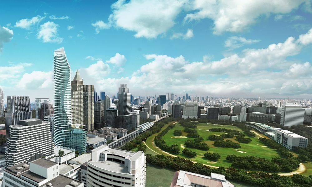 Waldorf Astoria Bangkok_Exterior_Magnolia Building3