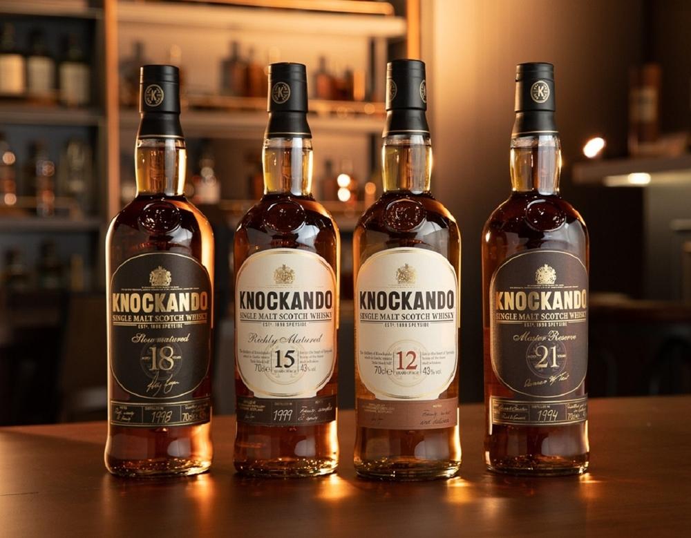 【參考圖片】納坎度單一麥芽威士忌系列酒款
