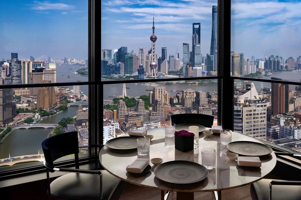 上海寶格麗飯店_IlRistoranteView