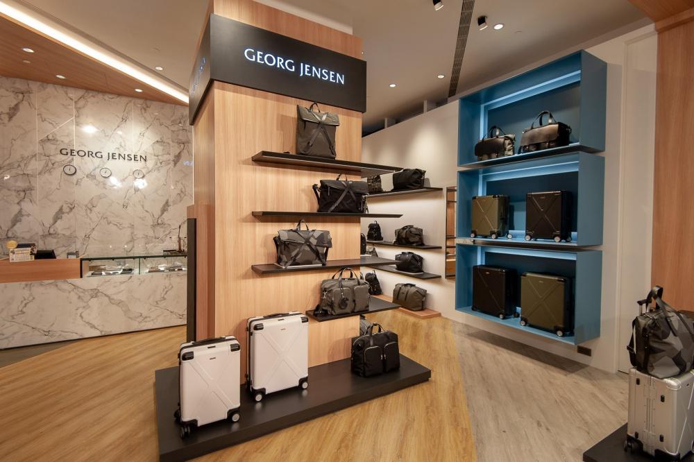 全球首間「Georg Jensen Men's旅行概念店」,呈現簡約北歐風格,店內裝潢採用木紋地板、大理石紋等元素,展現Georg Jensen Men's對大自然的靈感設計來源_1