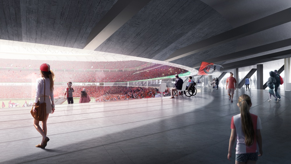08_Feyenoord City Stadium_Interior Concourse