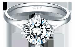 18K白金TMARK美鑽戒指 -1(1)