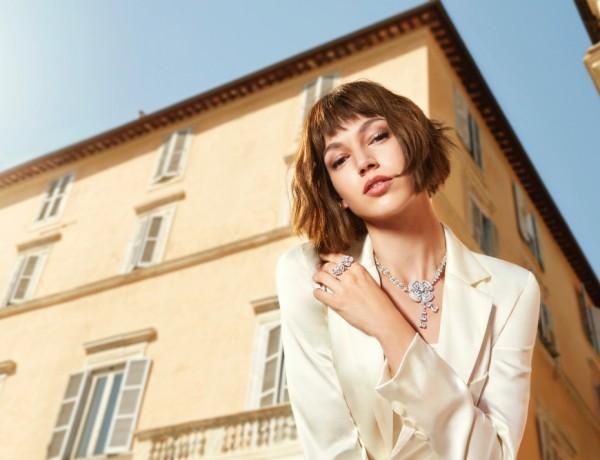寶格麗品牌代言人Ursula Corbero拍攝Fiorever形象廣告照_01