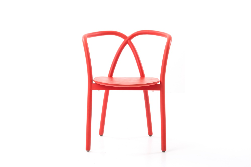 22-Stellar Works - Ming Chair - Ming-Chair-Red-Front