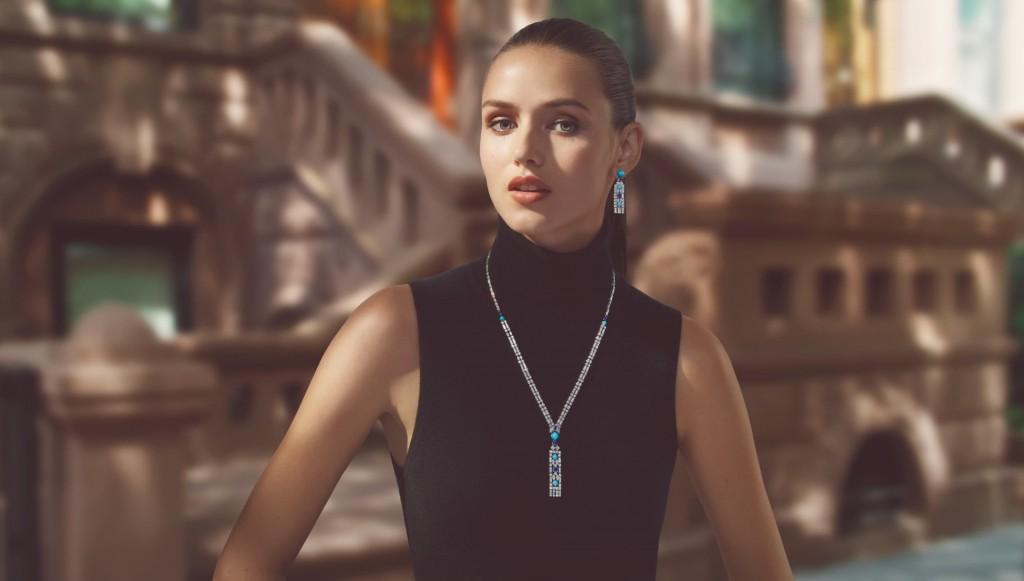 海瑞溫斯頓New York 系列 Brownstone 頂級珠寶作品