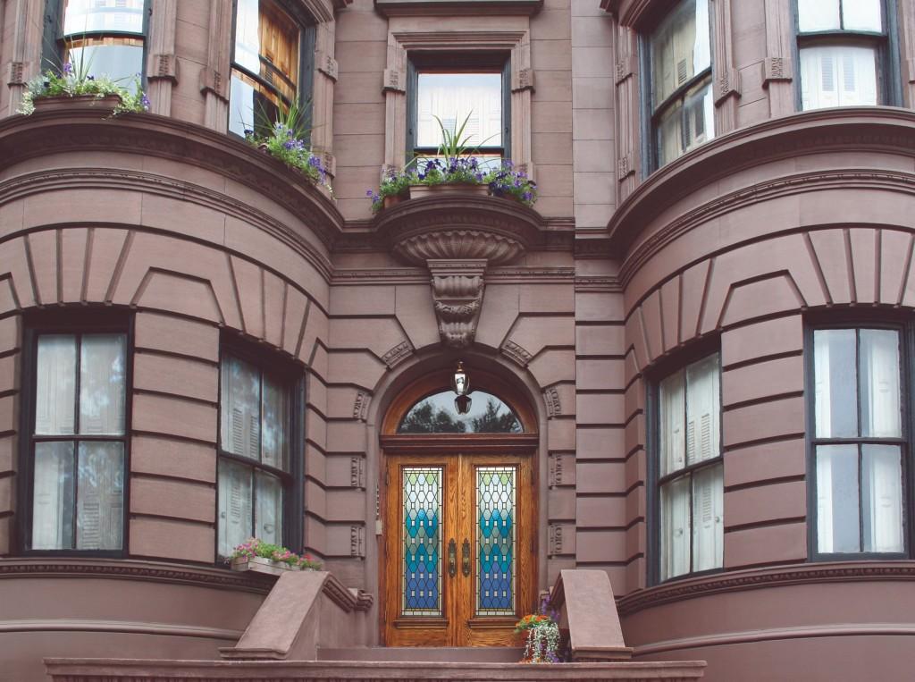 海瑞.溫斯頓先生出生地-紐約上西城優美典雅的赤褐色砂石建築
