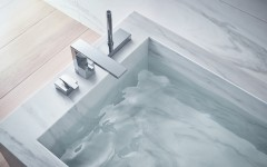 (1)AXOR Edge_Bathtub Faucet_Polished-Chrome