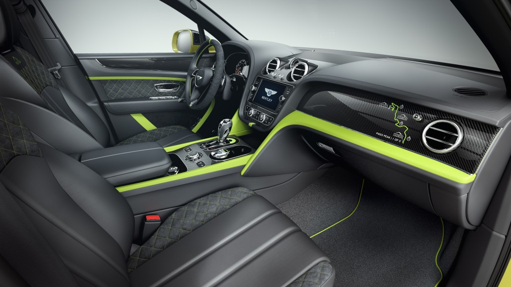 - Interior (1)Bentayga Pikes Peak Limited Edition