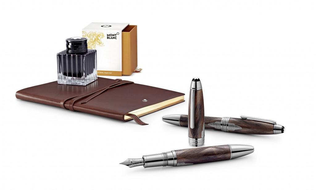 萬寶龍推出全新大師傑作名匠系列詹姆士.普迪父子書寫工具