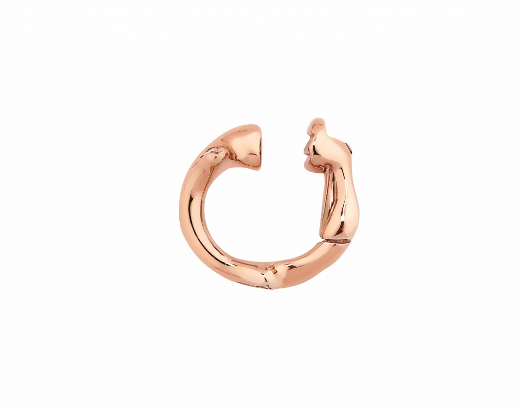 Bois De Rose 玫瑰金鑽石耳骨夾 NTD57,500 - JBDR95025_E02 (1)
