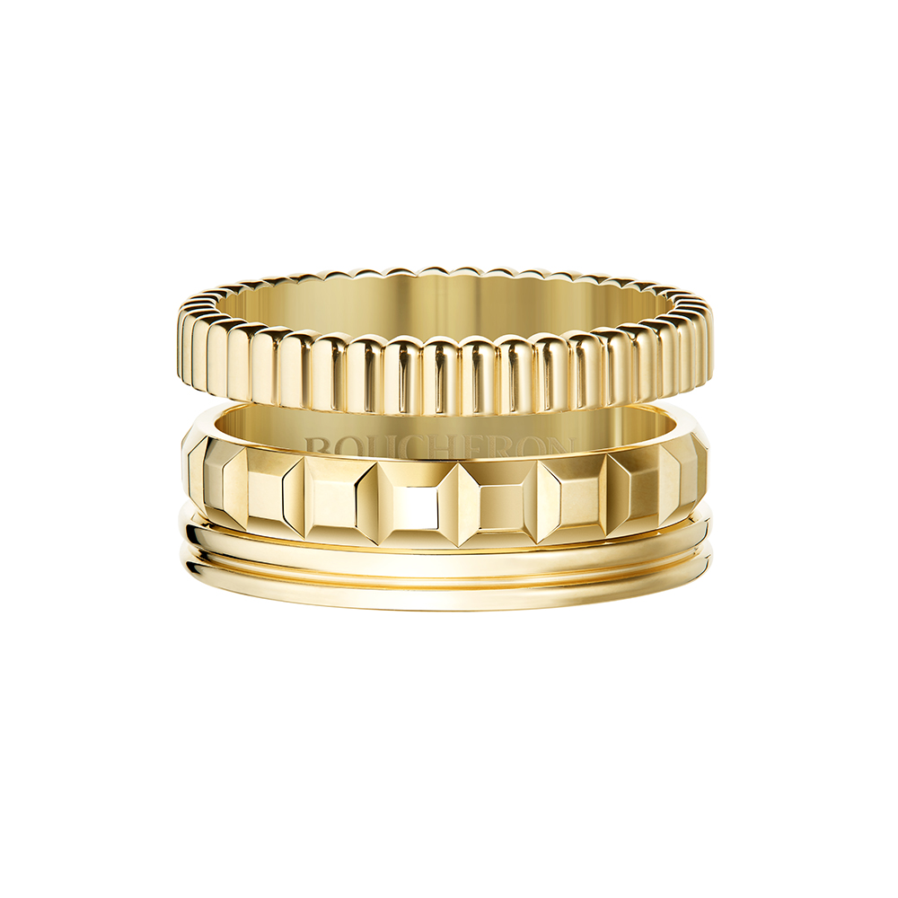 JRG02951 Quatre Radiant Edition ring in yellow gold