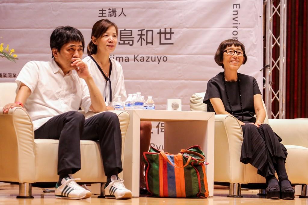 普立茲克獎得主-日本sanaa建築師事務所知名建築師妹島和世及西澤立衛在台中演講分享綠美圖設計心路歷程