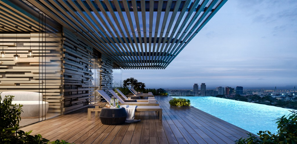 Mastery by Crown Group - Building C rooftop pool