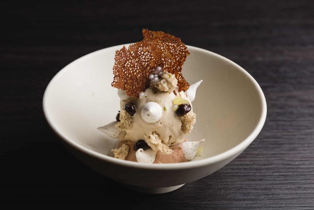 WILDWOOD甜點-巧克力紅茶冰淇淋聖代、泰國青檸 (1)
