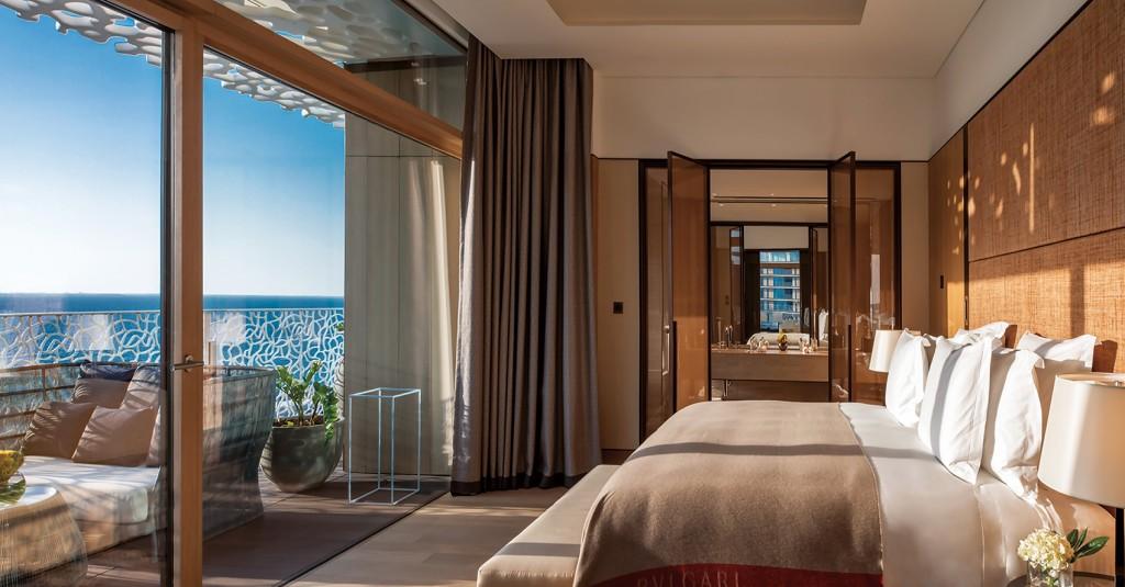 寶格麗杜拜飯店與度假村_Bulgari Suite臥房