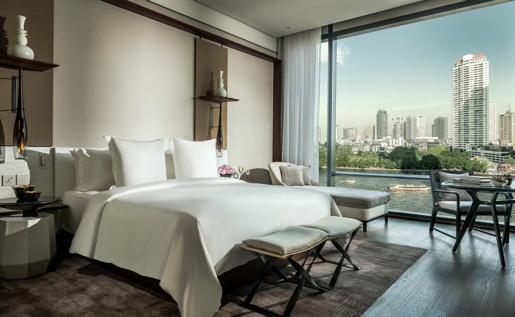 曼谷湄南河四季酒店_客房