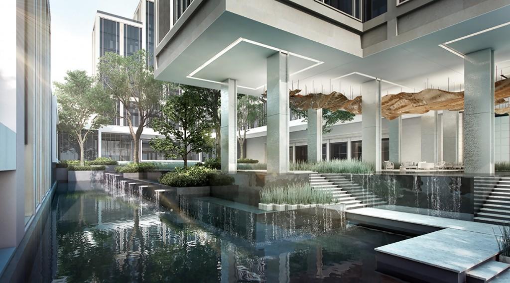 曼谷湄南河四季酒店_酒店外观
