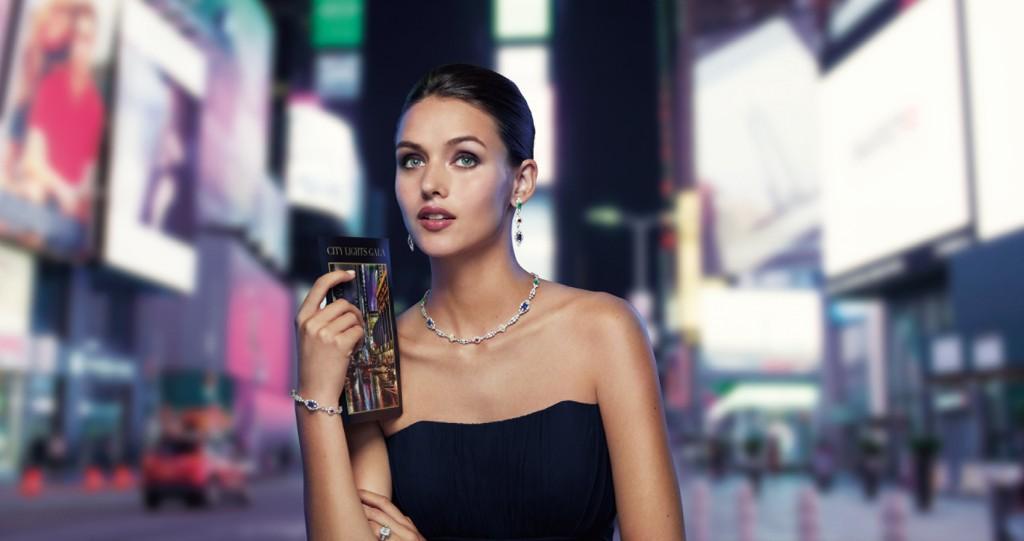 海瑞溫斯頓New York 系列City Lights 頂級珠寶作品