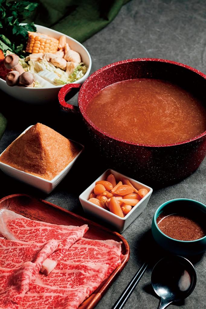 肉大人蒜頭釀噌鍋