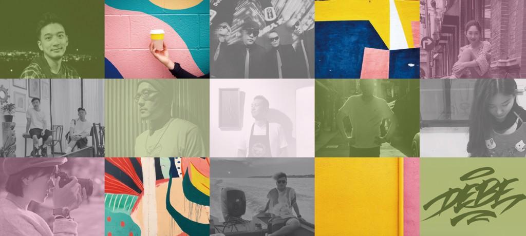 11位參展藝術家組圖