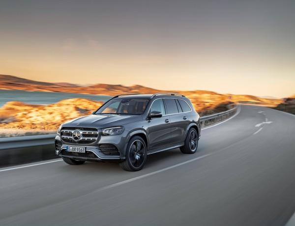Mercedes-Benz GLS, 2019, AMG Line, designo selenitgrau metallic   Mercedes-Benz GLS, 2019, AMG Line, designo selenite grey metallic