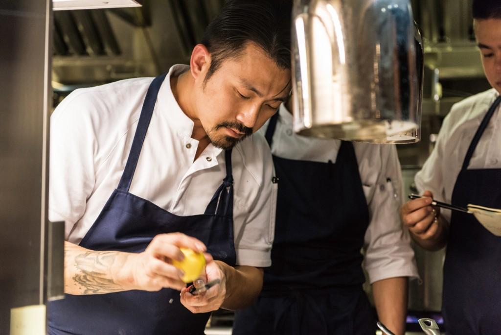 Chou Chou法式料理餐廳主廚林明健,同時為經營者