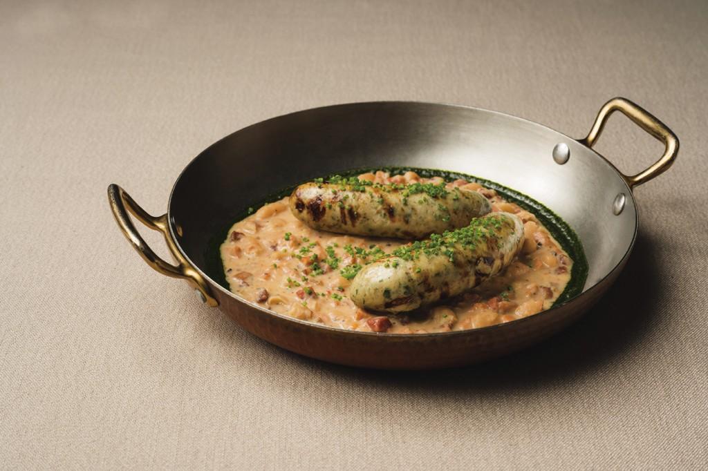 Chou Chou-鬼頭刀香腸燉鍋、白豆和臘腸